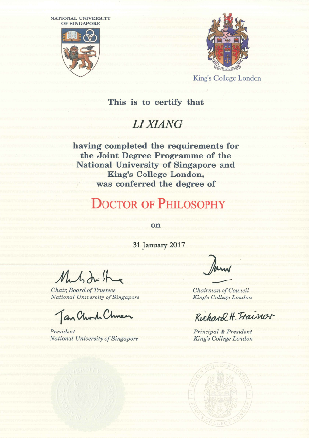 former student � valedictorian phd at nus commencement